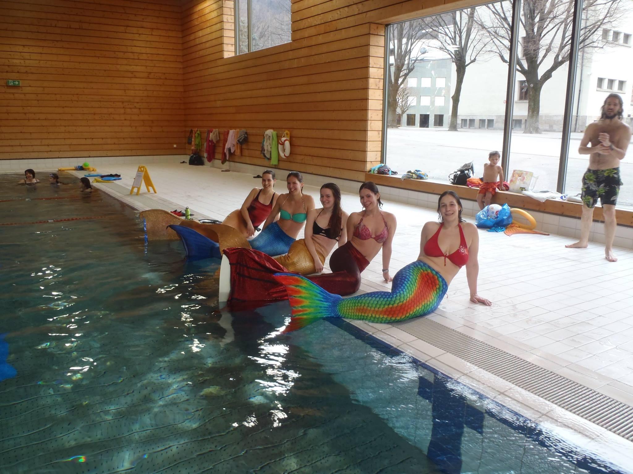 Journ e d initiation au mermaiding m tisph re swiss mermaid for Journee piscine